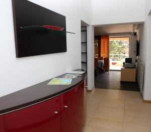 A television and/or entertainment center at Apartment Penthouse Silvije