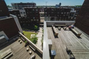 A bird's-eye view of Private studio in Amsterdam