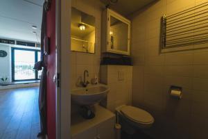 A bathroom at Private studio in Amsterdam