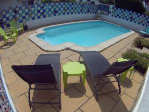The swimming pool at or near Can Dani