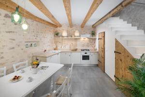 Kuhinja oz. manjša kuhinja v nastanitvi Casa Pharus