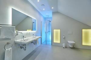 Ein Badezimmer in der Unterkunft Urlaubsreiterhof Trunk