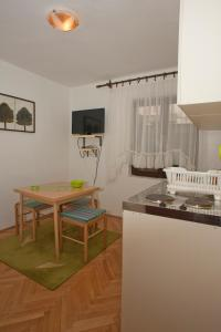 A kitchen or kitchenette at Apartment and Studio Giljaca