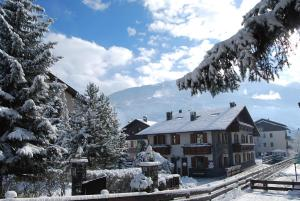 Chalet Gardenia during the winter