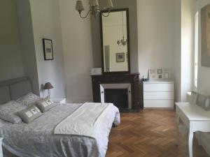 Un ou plusieurs lits dans un hébergement de l'établissement Chateau Vulcain