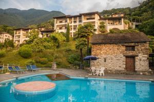 The swimming pool at or near Residenza Viramonte - Casa Cecilia