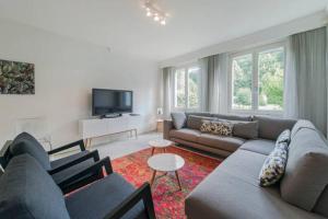 Een zitgedeelte bij Villa Kempen-Broek