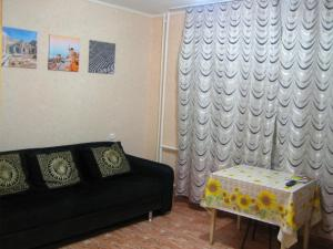 Гостиная зона в Apartment on Mate Zalki, 4