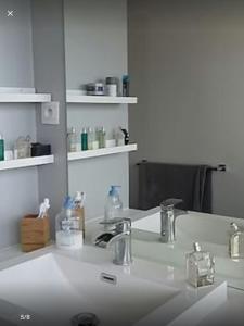 A bathroom at Penthouse avec terrasse plein ciel