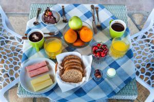 Επιλογές πρωινού για τους επισκέπτες του San Lazzaro
