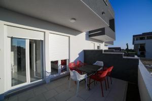 A balcony or terrace at Villa JASMINA