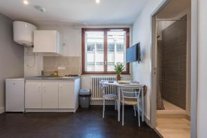 Cuisine ou kitchenette dans l'établissement Studio Neige - ANNECY DREAM