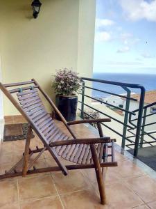 A balcony or terrace at Villa Maria Madeira