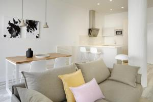 A seating area at Concha Bay 3 by FeelFree Rentals