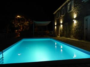 The swimming pool at or near Villa Manuela