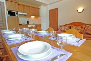 Restaurant ou autre lieu de restauration dans l'établissement Madame Vacances Le Vermont