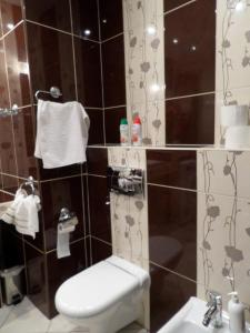 A bathroom at Apartament Giełdowa Residence