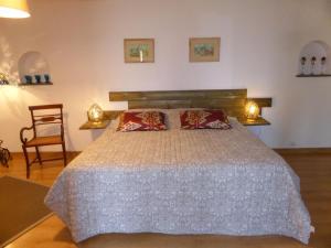 Un ou plusieurs lits dans un hébergement de l'établissement La Vy Bochenay