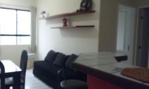 A seating area at Condominio Edificio Studio Ibiza 2