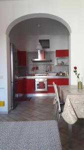 Una cocina o zona de cocina en Casa Roberto
