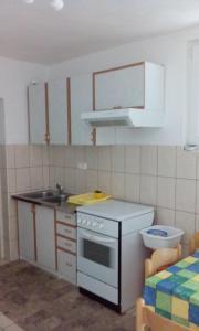 A kitchen or kitchenette at Nataša apartman