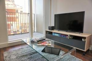 A television and/or entertainment centre at City Dreams