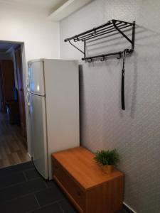 A bathroom at Blue Box Apartment
