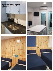A kitchen or kitchenette at Apartamento Ducal deluxe 1ª linea