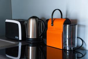 Coffee and tea-making facilities at Budapest Minimal Style - You will love it!