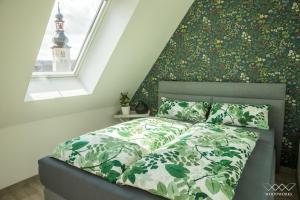 Ein Bett oder Betten in einem Zimmer der Unterkunft TeigenHeim