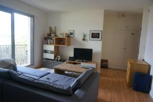 A television and/or entertainment center at Elegant Studio at La Defence