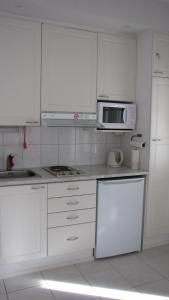 A kitchen or kitchenette at YlläsStar Apartments