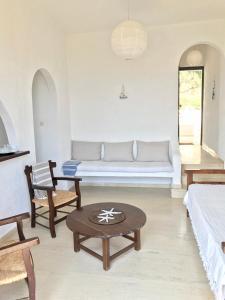 Χώρος καθιστικού στο Elea Apartment