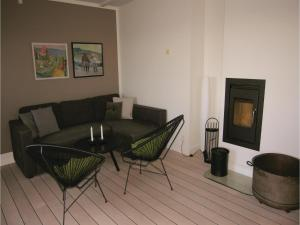 A seating area at Apartment Færgevej X