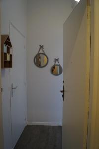 Salle de bains dans l'établissement Nordic chic