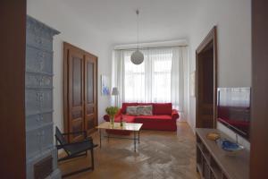 Гостиная зона в Apartment Josefská 2