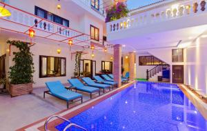 The swimming pool at or near Pham Gia Boutique Villa