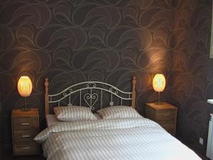Кровать или кровати в номере ReeDe Villa