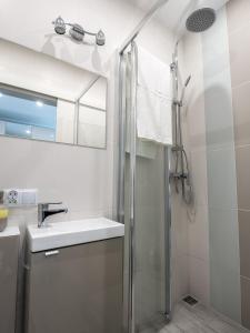 Vonios kambarys apgyvendinimo įstaigoje Lemonade Nowogrodzka