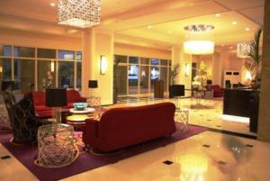 The lobby or reception area at McKinley hill residences-Stamford Executive