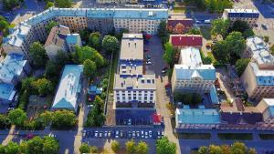 Skats uz naktsmītni Home in Riga Penthouse no putna lidojuma
