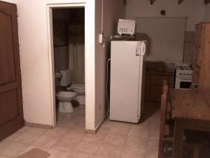A bathroom at Andalhue 2