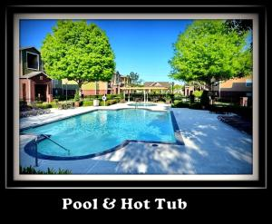 The swimming pool at or near (1512) Walk to NRG, 2/2 Apt. Sleeps 10.