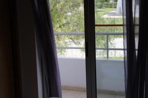 Uma vista geral do aparthotel