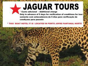 Pantanal ocelotnatur Floating hotel barco do Antonio