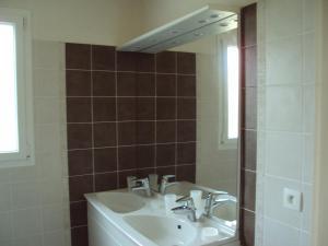 A bathroom at Chez Pascale