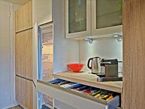 A kitchen or kitchenette at Apartment BelleVue centre & wifi