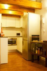 A kitchen or kitchenette at Canceleiro