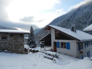 L'établissement Chalet Peillex en hiver
