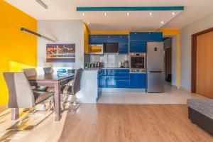 A kitchen or kitchenette at Budapest Minimal Style - You will love it!